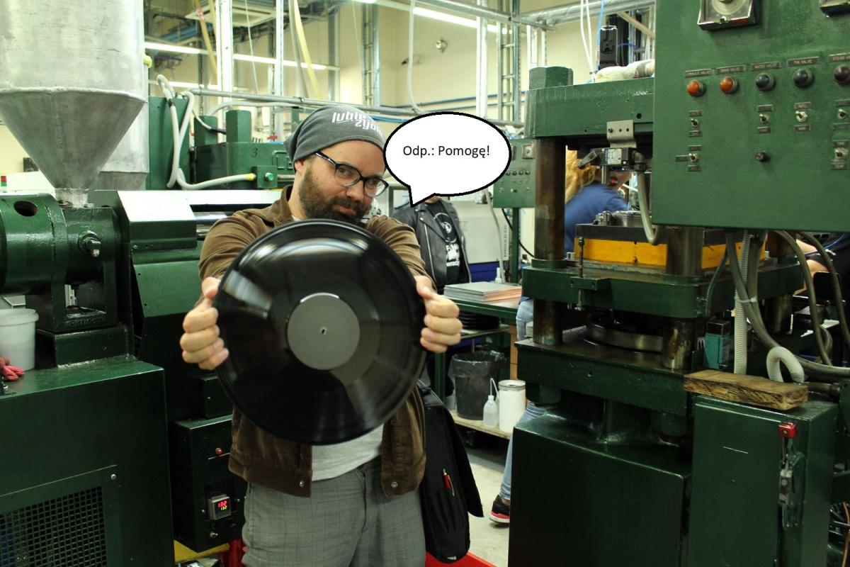 Wydaj płytę z Panem Winylem