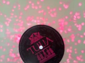 transparent pink vinyl