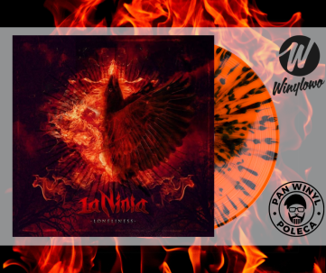 LaNinia - Lonelines - orange/black splatter 100 szt.